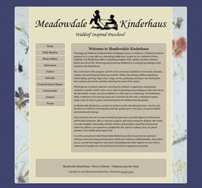 Meadowdale Kinderhaus Website