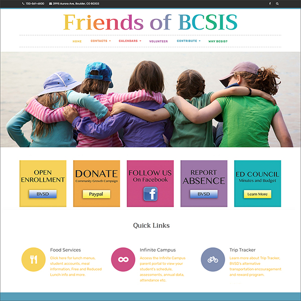 Friends of BCSIS website