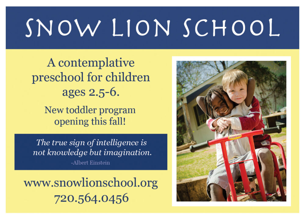 Snow Lion Ad