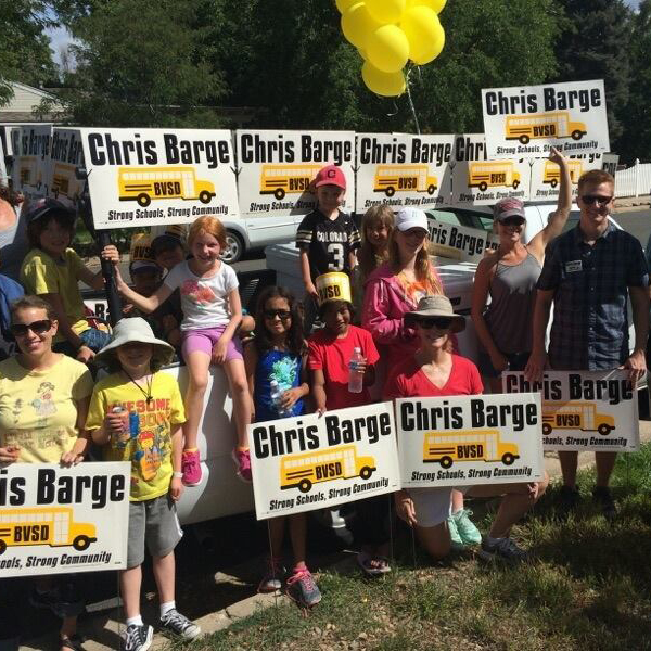 Chris Barge Yard Signs