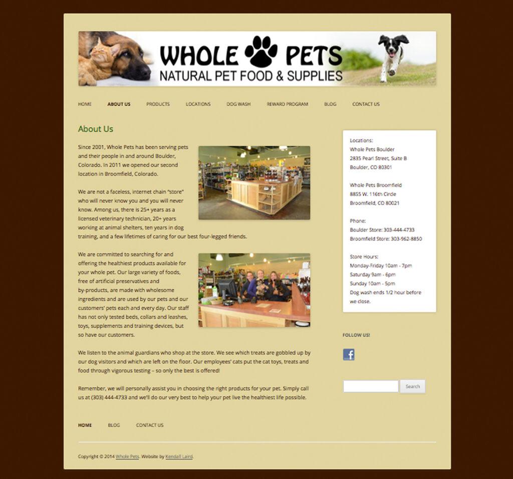 Whole Pets